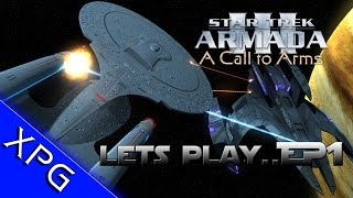 Lets Play...Star Trek Armada 3: A Call to Arms - Dominion War Begins Ep 1