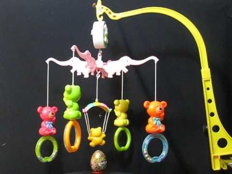 Hanging music box for babies (carousel) series