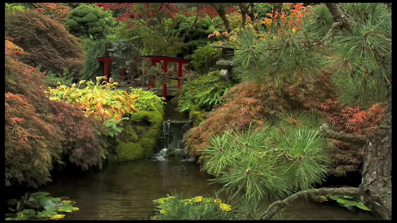 Autumn at The Butchart Gardens - YouTube