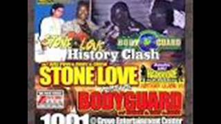 Bodyguard vs Stone Love 1991