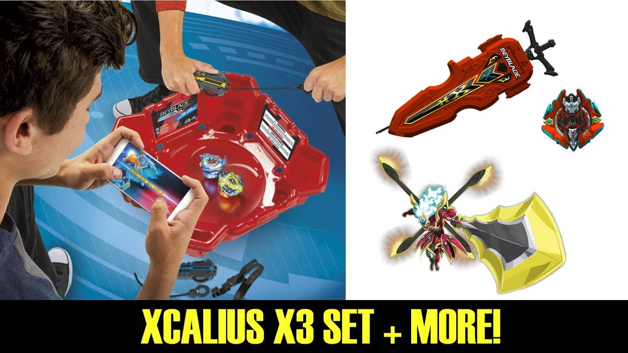 Xcalius X3 Set Rip Fire V3 F3 Beyblade Burst Evolution