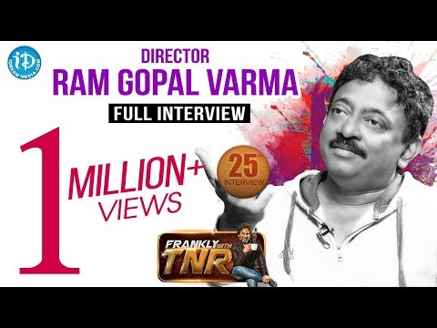 Ram Gopal Varma #RGV Exclusive Interview || Frankly With TNR #25 || Talking Movies with iDream #181