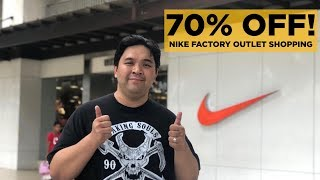 STEAL SNEAKER DEALS AT THE NIKE FACTORY OUTLET PHILIPPINES (JORDANS, ETC)