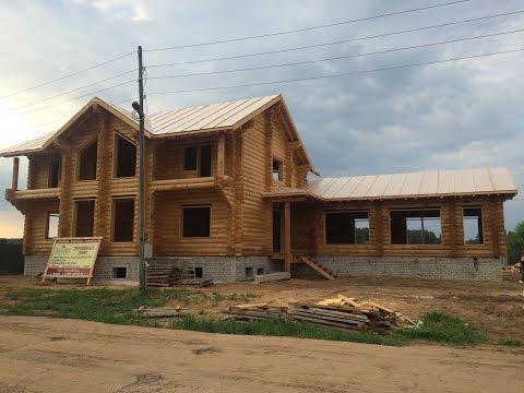Строительство деревянного дома из бревна. КайзерДом