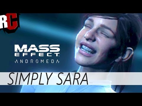 Mass Effect Andromeda - Simply Sara Ryder (Facial animations from another planet)