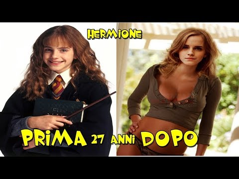HARRY POTTER & PRIMA E DOPO 2018