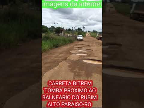 Acidente RO 459 Alto Paraíso RO