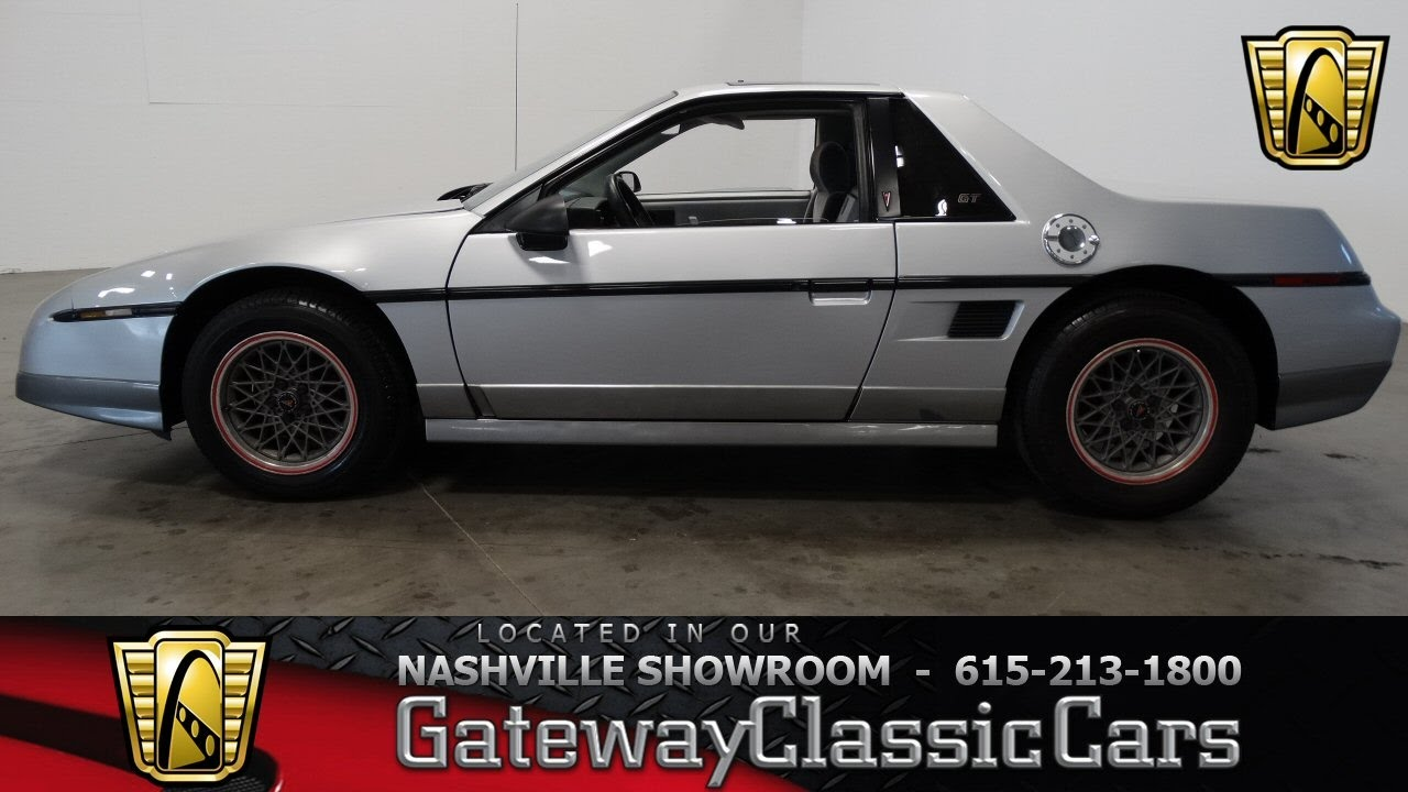1985 Pontiac Fiero Gt Gateway Classic Cars Nashville 413 Youtube