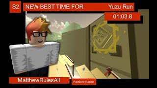 [Old WR] ROBLOX Boost Vector | Yuzu Run (Season 2) 1:03.8