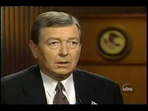 John Ashcroft on Nightline - October 11, 2001 pt 1
