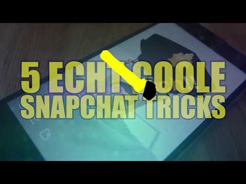 5 Coole Snapchat Tricks