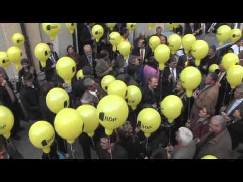 BDP Videonews zum 1. Geburtstag BDP Schweiz, Berner Kandidaten und mehr.