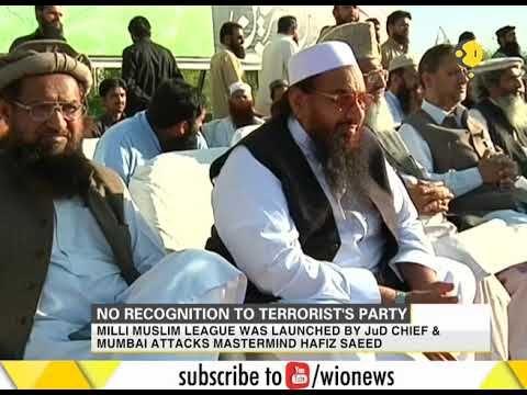 Pakistan rejected registration of Milli Muslim League as an official political party