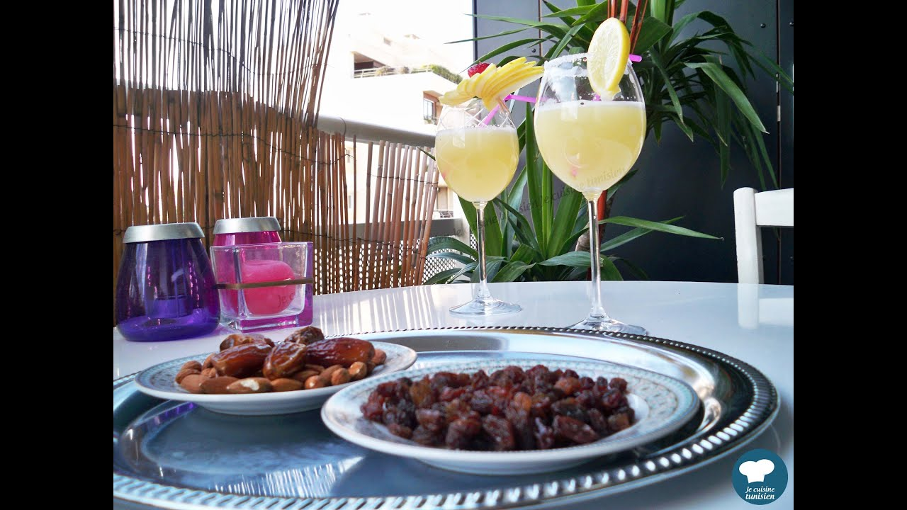 Citronnade tunisienne cuisine tunisienne youtube - Youtube cuisine tunisienne ...