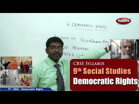 NCERT | CBSE Syllabus  | Class 9th Social Studies | Democratic Rights  | Live Videos