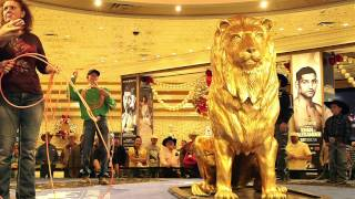 NFR Cowboys Lasso the Lion at MGM Grand in Las Vegas.