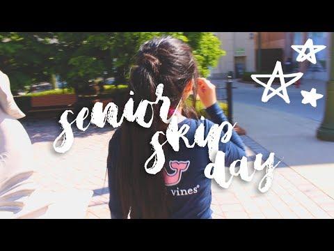 Senior Skip Day As A Junior !! | Valeria Berz