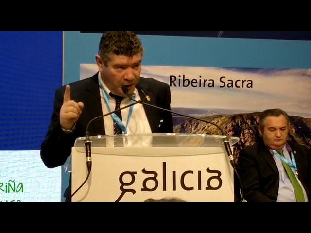 El alcalde de Burela habla de las playas de A Mariña y del Camiño Norte en Fitur