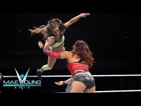 Kacy Catanzaro vs. Reina González - First-Round Match: Mae Young Classic, Sept. 12, 2018