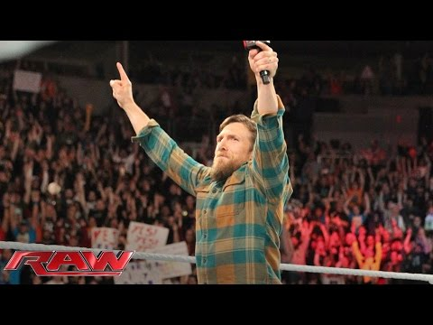 Daniel Bryan bids farewell to the WWE Universe: Raw, February 8, 2016