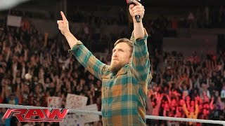 daniel bryan bids farewell to the wwe universe raw february 8 2016