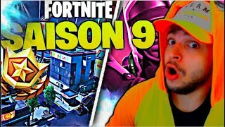DEDÉCOUVERTE OF COMBAT SAISON 9 ON FORTNITE! TESTE OF THE NEW WAR POMPE