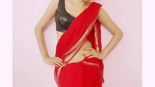 Jawani Deewani Saree Wearing Style-Sari Wraping Video Tutorial/How To Drape Saari