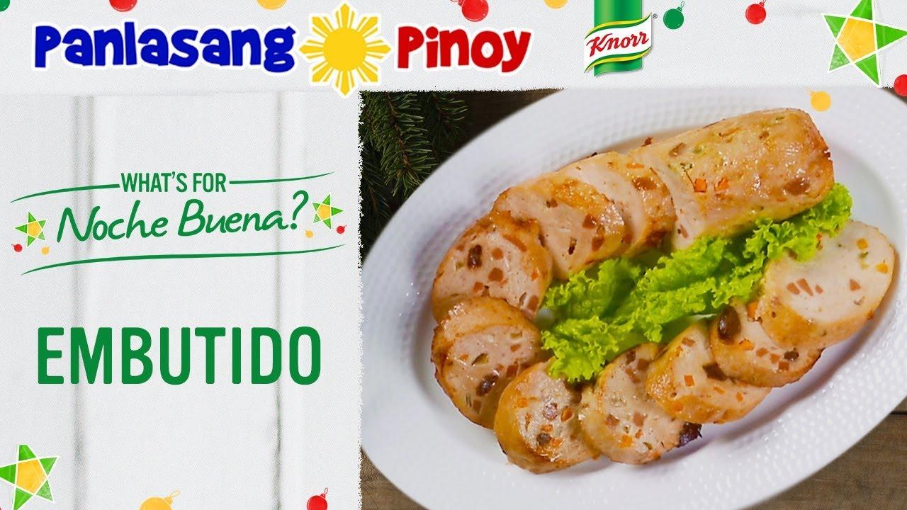 How To Cook Embutido Make Recipe Panlasang Pinoy