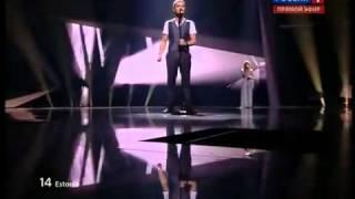 Estonia Ott Lepland - Kuula - Semifinal -Эстония Евровидение 2012.