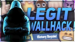 LEGIT WALLHACK VE FORTNITE !!