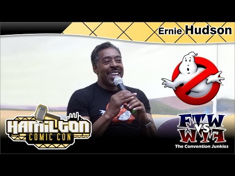 Ernie Hudson (Ghostbusters) Hamilton Comic Con 2017 Full Panel