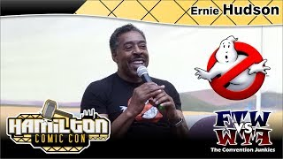 Ernie Hudson (Ghostbusters) Hamilton Comic Con 2017 Full Panel