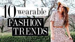 10 Best WEARABLE Fashion Trends for 2019!