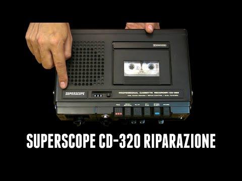 Riparo Il Registratore A Cassette Superscope CD-320