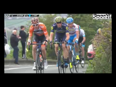 Cycling 2017 Tour de Yorkshire Stage 3 Final Kms (English)