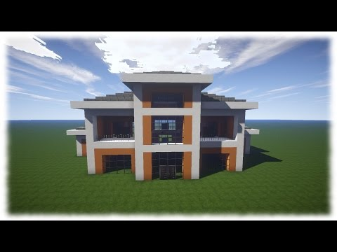Full download minecraft villa bauen leicht for Modernes haus download