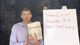 Ascorbic Acid is not Vitamin C