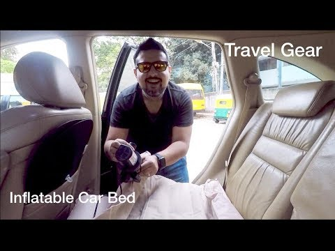 Inflatable Car Mattress | Must Have Travel Gear