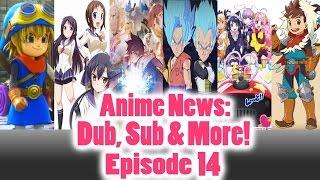 #Anime News - Dragon Ball Fusions, Godzilla, Dragon Quest - Sub, Dub & More: Episode 14 #Anime