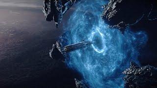 人类利用神级文明留下的传送站,进行星际穿越,却误入了诡异空间《裂缝之外》几分钟看科幻片