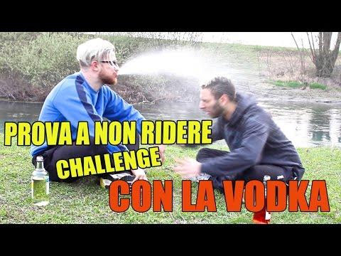 PROVA A NON RIDERE CHALLENGE [CON LA VODKA!] feat Amedeo Preziosi