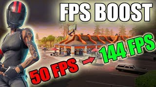 5 STEPS TO CONSIDERABLY INCREASE YOUR FPS AT FORTNITE (FPS BOOST) WIN 7/8/10-Tutorial