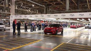 El nuevo Opel Corsa en la fabrica de Zaragoza