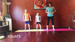Quick Body Weight Workout for Kids 5 Minutes