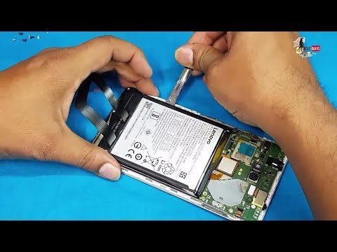 Lenovo K6 Note Battery Replacement || How To Replace Lenovo k6 NOTE Battery