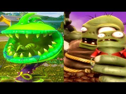 Plants vs Zombies Garden Warfare - TOXIC CHOMPER vs GARGANTUAR ...