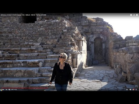Ephesus Ancient Greek/Aegean City - Turkey 4K Ultra HD 2160p