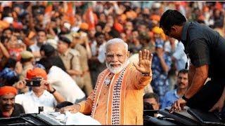 Lok Sabha poll: PM Modi holds mega roadshow in Varanasi