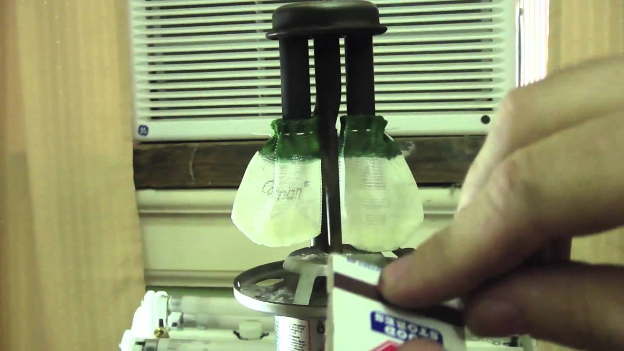 How to Replace the Mantles in Coleman Lantern - YouTube
