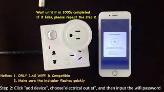 Martin Jerry Smart Plug - Wifi Connection (2.4G ONLY)